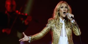 Celine Dion Performs In Sydney