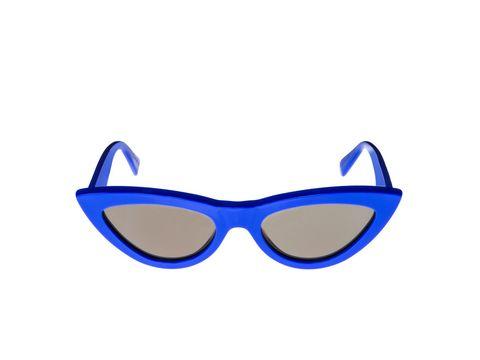 Eyewear, Sunglasses, Glasses, Blue, Cobalt blue, Personal protective equipment, Electric blue, Vision care, Goggles, Aqua,