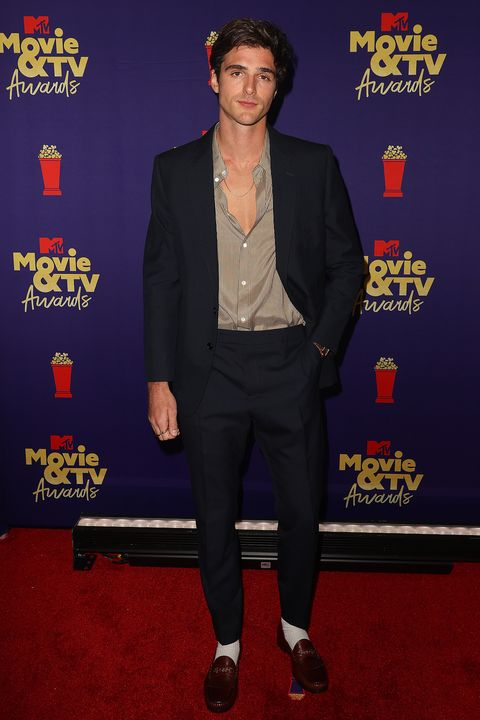 los angeles, california   may 16 jacob elordi poses backstage during the 2021 mtv movie  tv awards at the hollywood palladium on may 16, 2021 in los angeles, california photo by kevin winter2021 mtv movie and tv awardsgetty images for mtvviacomcbs