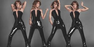 Celine Dion in LouisvuittonShop UK's June issue