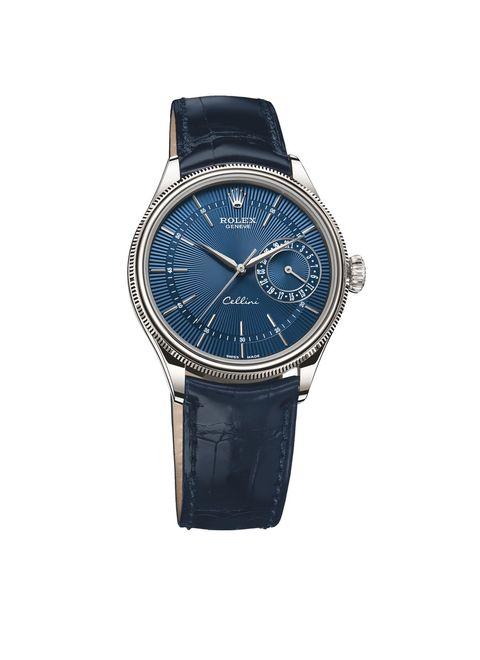 Watch, Analog watch, Strap, Watch accessory, Fashion accessory, Blue, Cobalt blue, Jewellery, Electric blue, Brand,