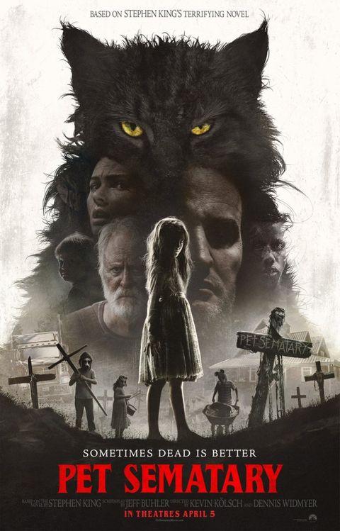 Cementerio de animales remake poster