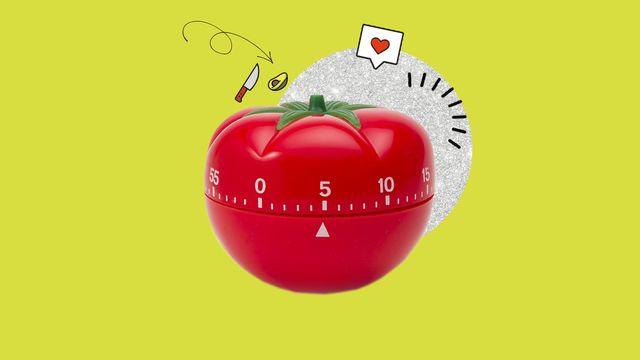reloj temporizador de cocina