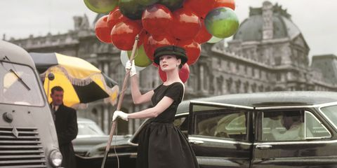 Automotive design, Balloon, Party supply, Dress, Style, Classic car, Grille, Photography, Street fashion, Classic,