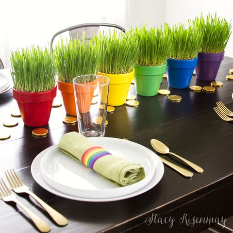 Centerpiece - St. Patrick's Day Decorations