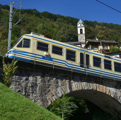 Italy rail - Centovalli Railway