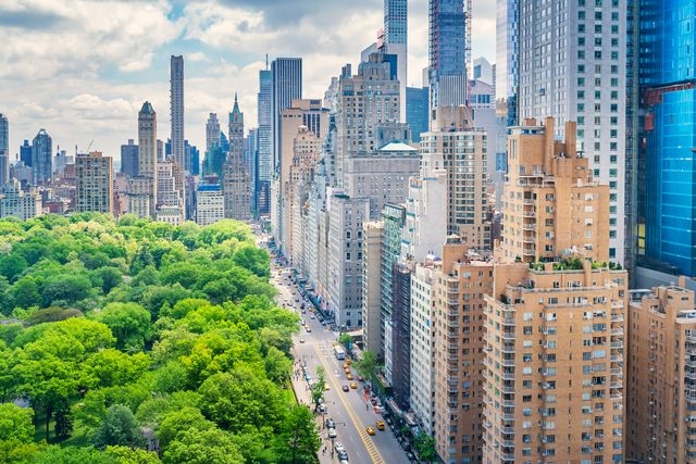 central park and 59th street manhattan new york city usa