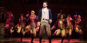 Hamilton - musical, West End cast