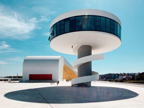 Centro Cultural Óscar Niemeyer en Avilés