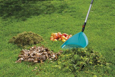 jardinería cepillo recoge hojas combisystem