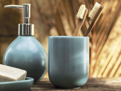 Soap dispenser, Product, Bathroom accessory, Soap dish, Ceramic,