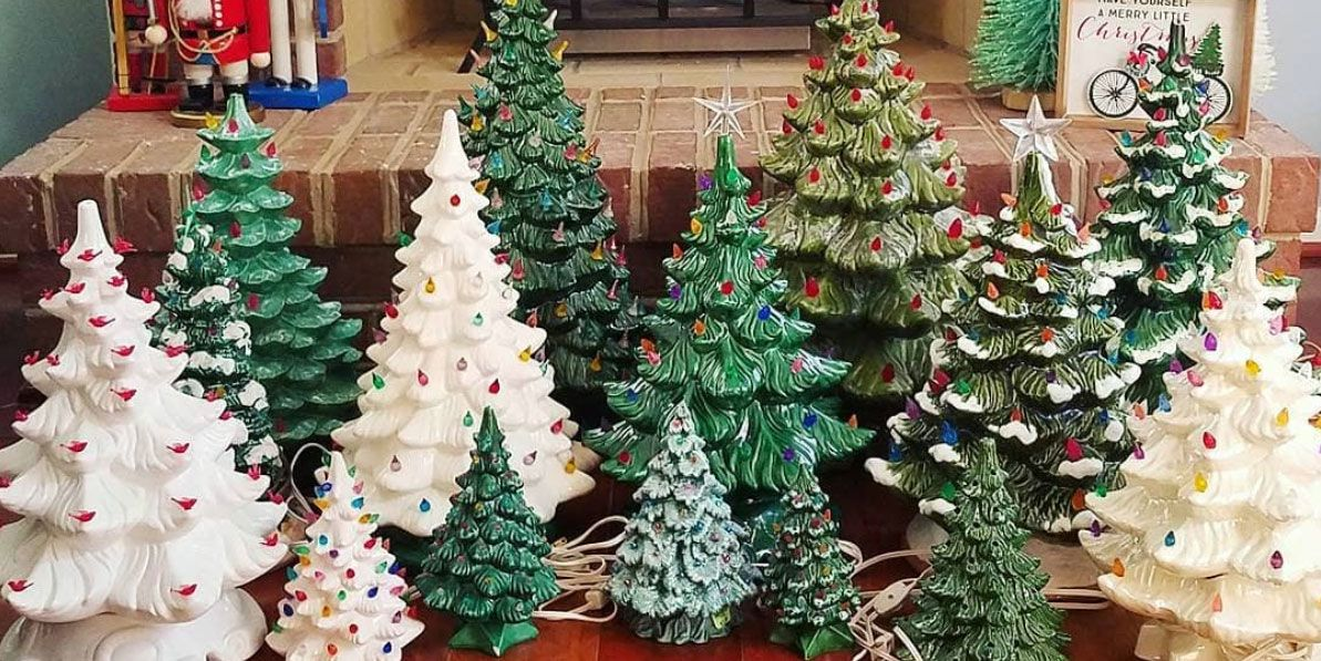 Best Vintage Ceramic Christmas Trees Ceramic Christmas Trees And