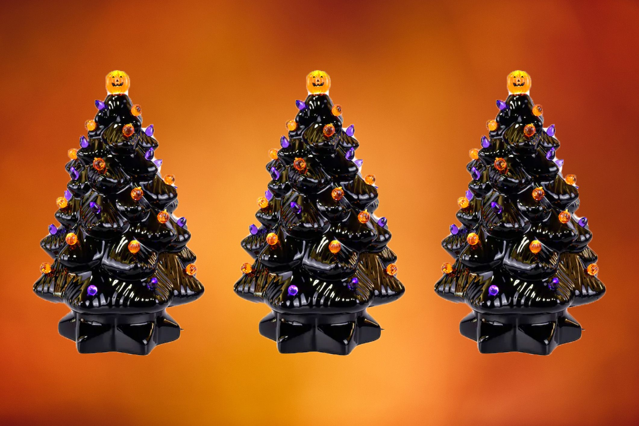Halloween Christmas Tree.Shop Ceramic Halloween Trees Halloween Decor 2019