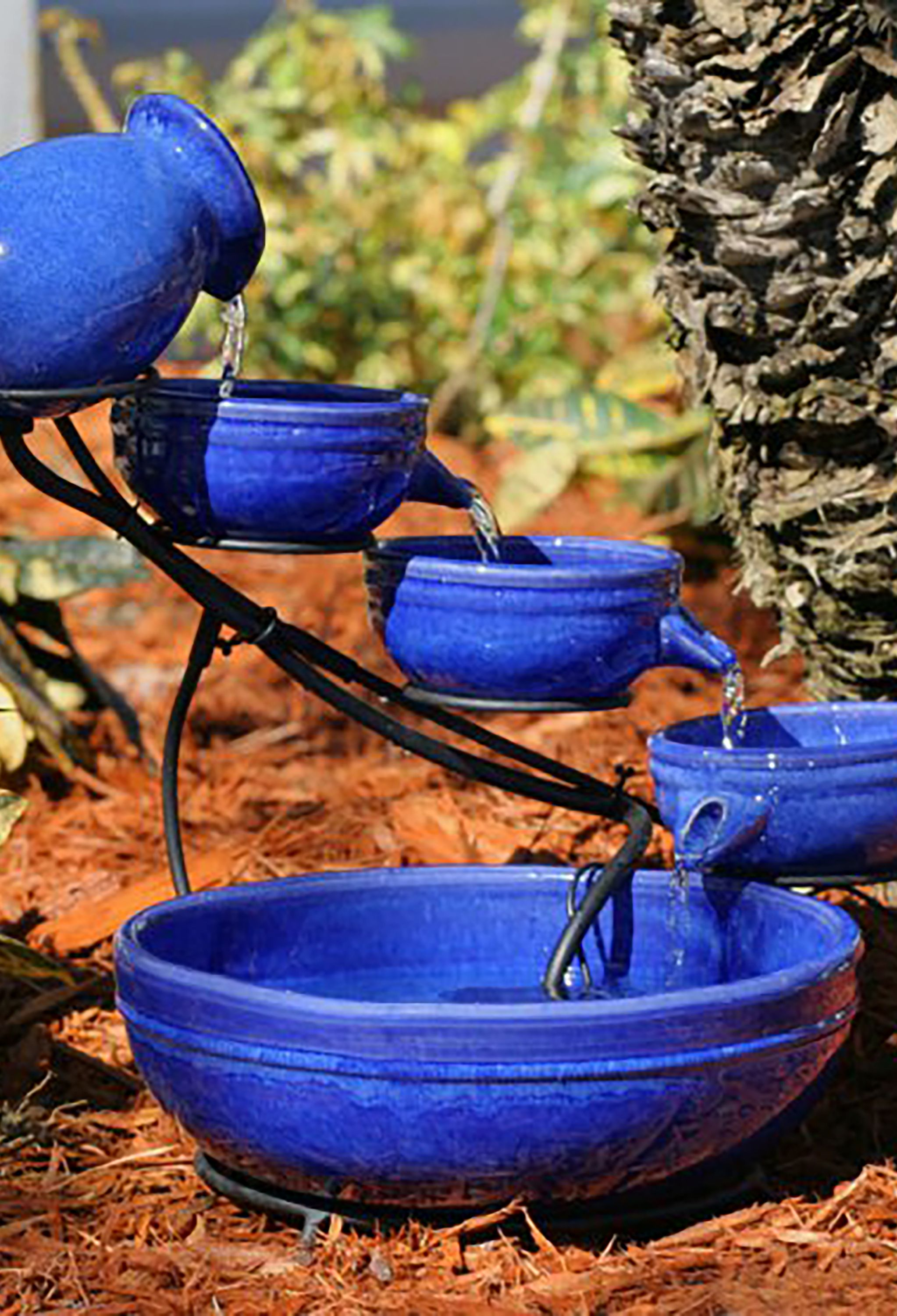 Water fountain idea for spring.