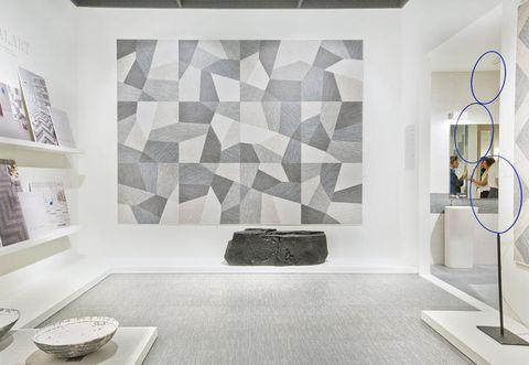 Floor, Interior design, Room, Flooring, Dishware, Wall, Serveware, Ceiling, Tile, Interior design,