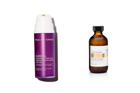 Paula's Choice Clinical Ceramide enriched moisturizer and marie veronique balancing hypotonic