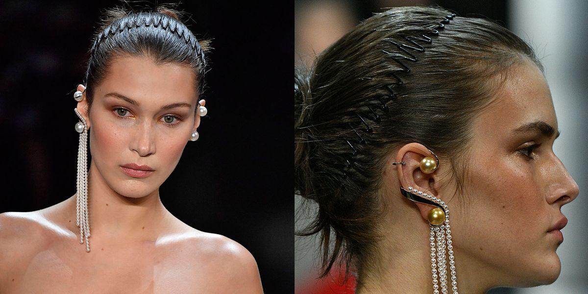 Accessori per capelli? Il cerchietto a pettine anni 90