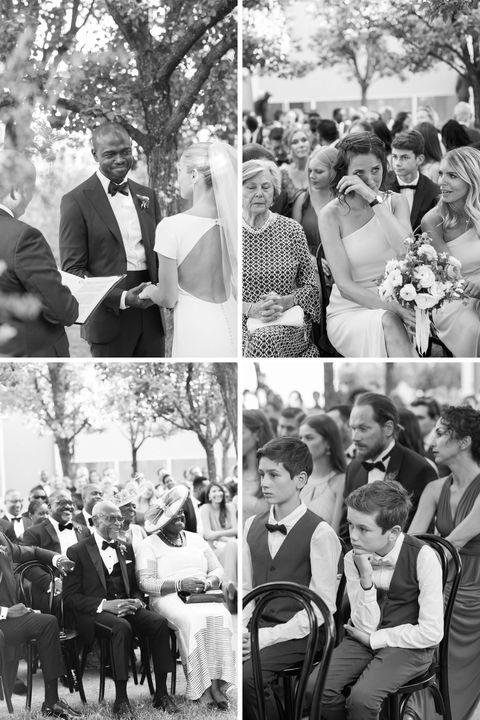 invités de cérémonie