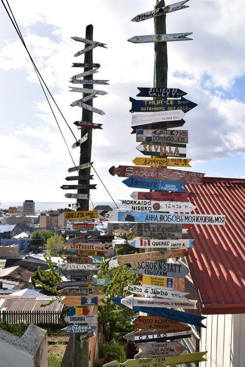 cerro de la cruz Punta Arenas Chile