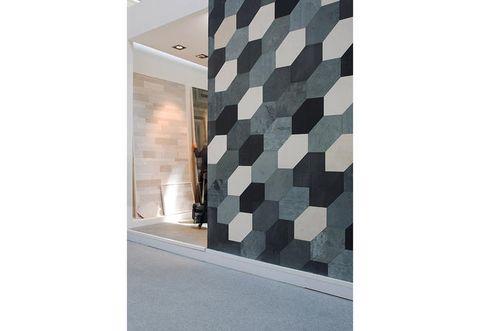 Floor, Wall, Flooring, Grey, Rectangle, Beige, Composite material, Tile, Concrete, Camouflage,