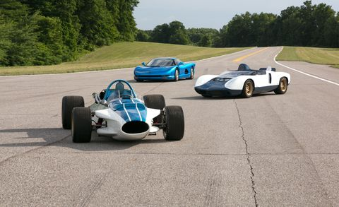 GM's Mid-Engine Research Originated in Three CERV Concept Cars