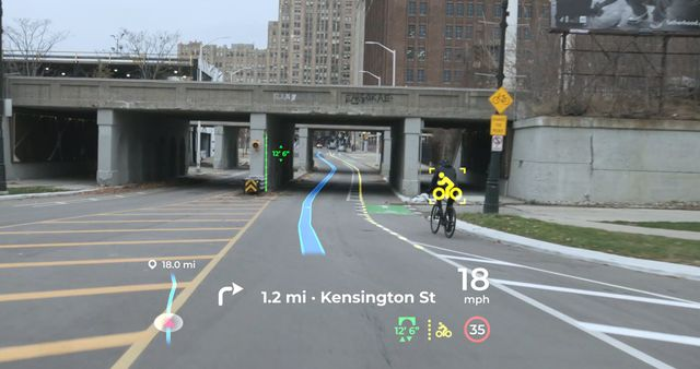 panasonic automotive augmented reality head up display
