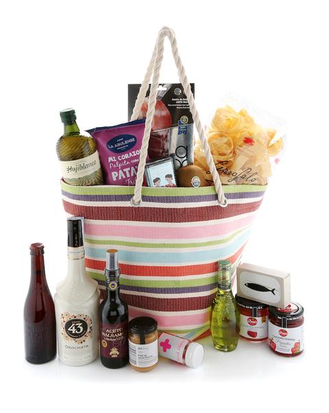 goodie bags de los elle gourmet awards