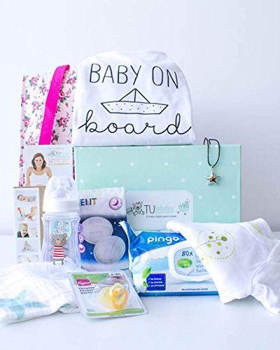 Cesta de regalo para embarazadas