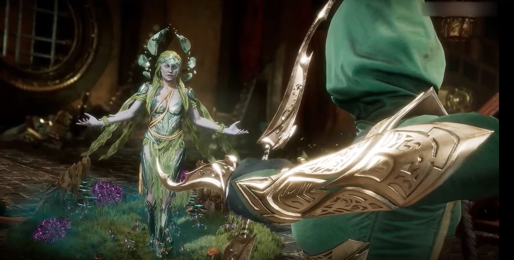 New 'Mortal Kombat 11' Trailer Reveals Cetrion Is a Playable