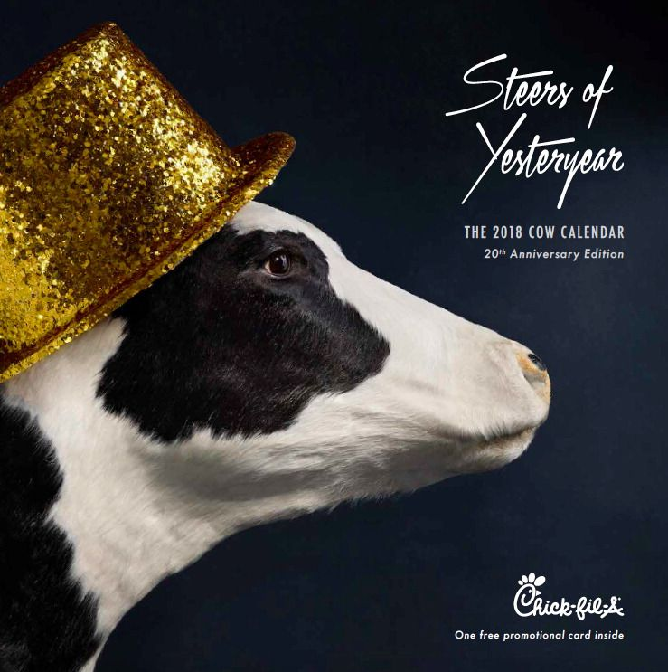 Chick Fil A Calendar.Chick Fil A Cow Calendars Or Cowlendars End After 20 Years And
