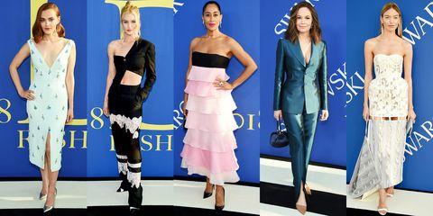 Fashion model, Clothing, Fashion, Dress, Shoulder, Fashion design, Footwear, Joint, Electric blue, Event,