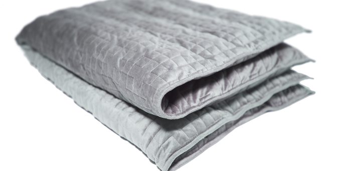 This Weighted Blanket May Help Solve Your Sleep Problems