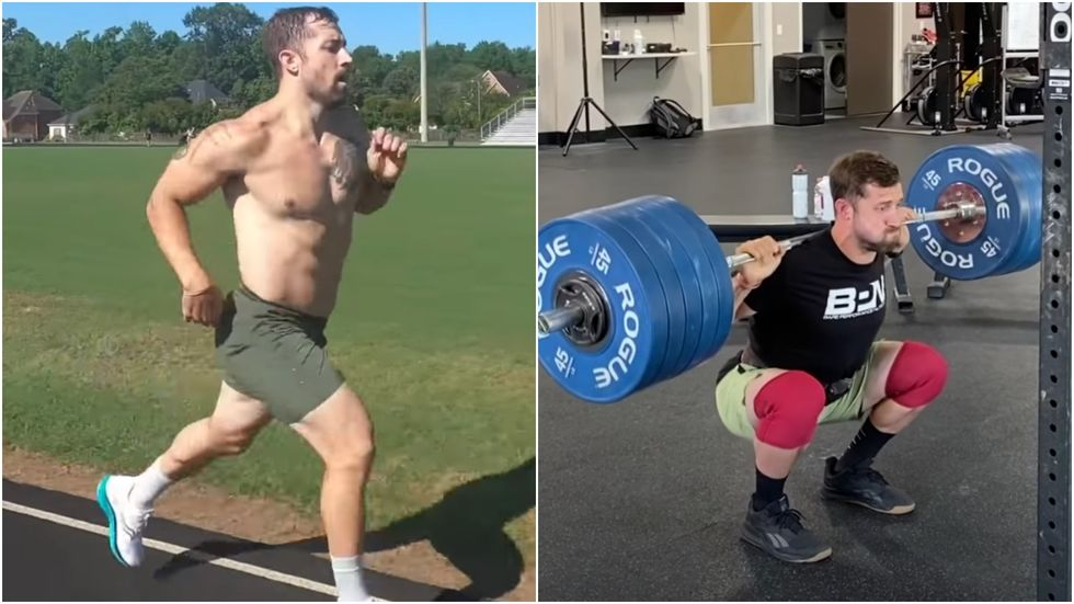 A CrossFitter Ran a Sub-5-Minute Mile and Hit a 500-Pound Back Squat in 1 Day thumbnail