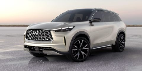 infiniti qx60 monograph is the shape of inifintis to come