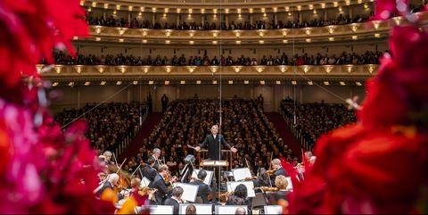 Auditorium, Theatre, Stage, Opera house, Event, Performance, Architecture, heater, Plant, Crowd,