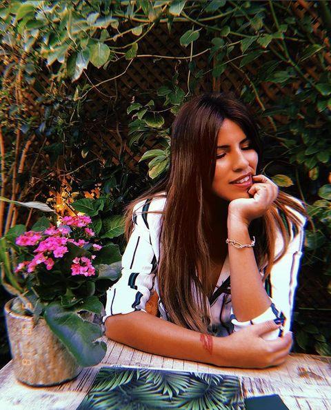 Beauty, Botany, Summer, Flower, Photo shoot, Spring, Leaf, Photography, Lip, Long hair,