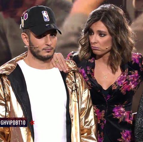 Chabelita y Omar Montes protagonizan un encontronazo en el debate de 'GH VIP 6' tras su nueva ruptura