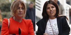 Chabelita y Paz Guerra se ven las caras en los juzgados por la demanda que la hija de Isabel Pantoja interpuso contra la madre de Alejandro Albalá