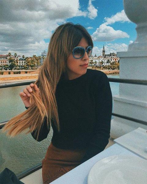 Chabelita con gafas de sol