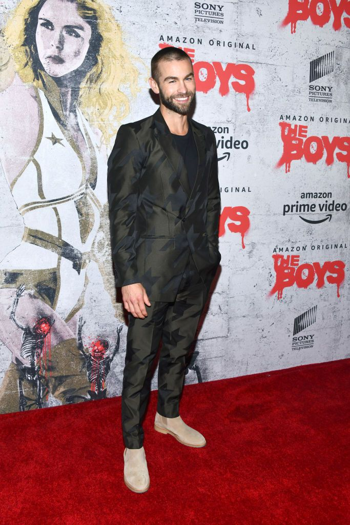 Chace Crawford's 'The Boys' Costume Creates a Tidal Wave of Thirst