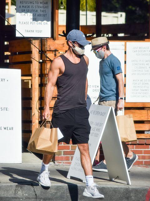 celebrity sightings in los angeles   july 28, 2020