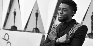 Chadwick Boseman oscars 2018 black panther