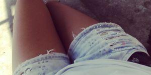 thighs, shorts, legs