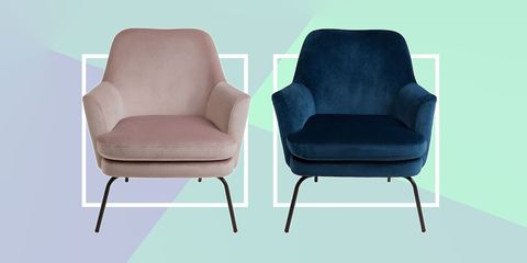 This £195 velvet armchair is already one of Habitat's fastest-selling chairs to date