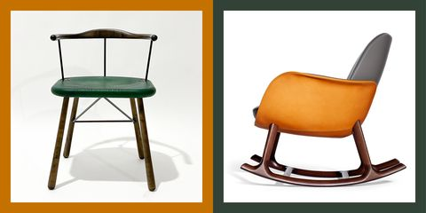 best chairs at salone del mobile 2020   elle decor