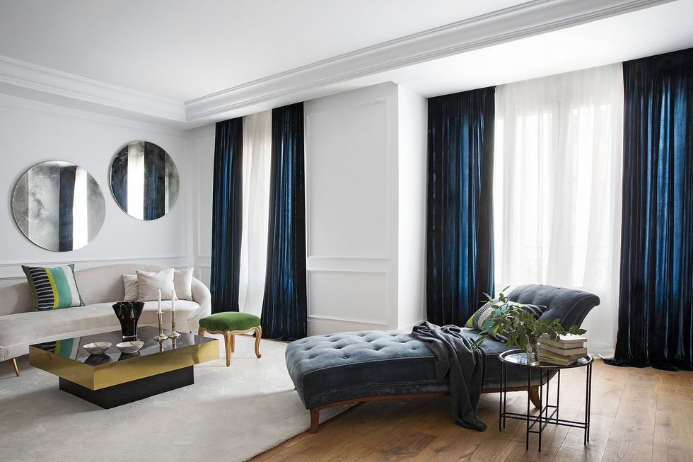Un piso con el toque perfecto de color