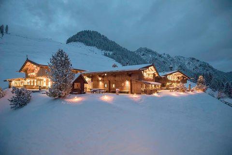 Chalets de lujo y nieve asegurada para unas vacaciones de película