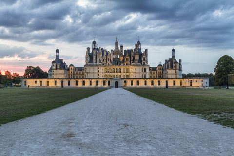 castillo de chambord, loira, francia