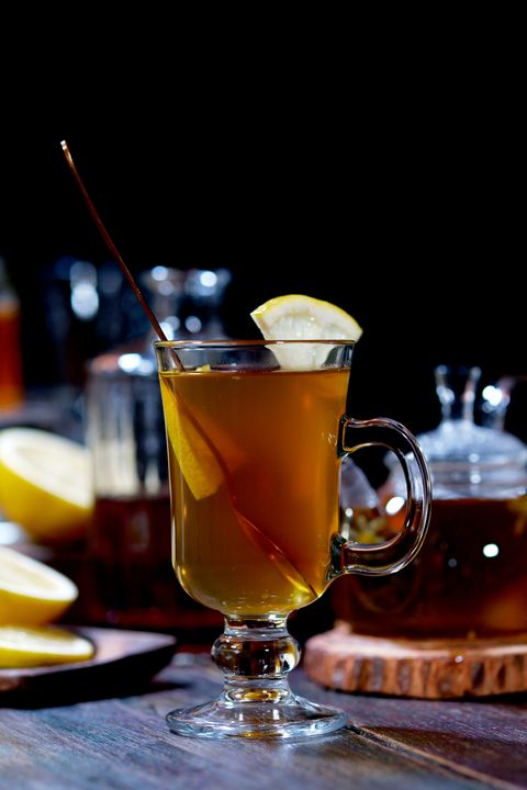 Chamomile hot toddy
