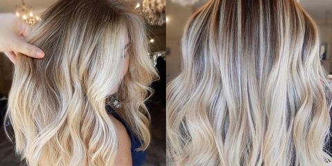 Champagne Blonde Hair Color — Hair Color Ideas for Winter